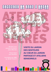 2019 affiche petites recres jardin